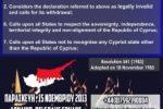 Εκδήλωση καταδίκης της παράνομης ανακήρυξης του ψευδοκράτους