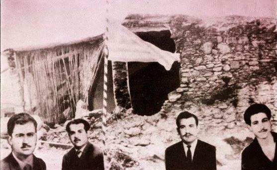 ΕΟΚΑ: Μάχη Αχυρώνα Λιοπετρίου (Φώτης Πίττας, Ανδρέας Κάρυος, Ηλίας Παπακυριακού & Χρίστος Σαμάρας)