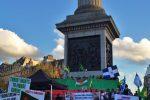 Συλλαλητήριο για το Κομπάνι στο Λονδίνο 2014
