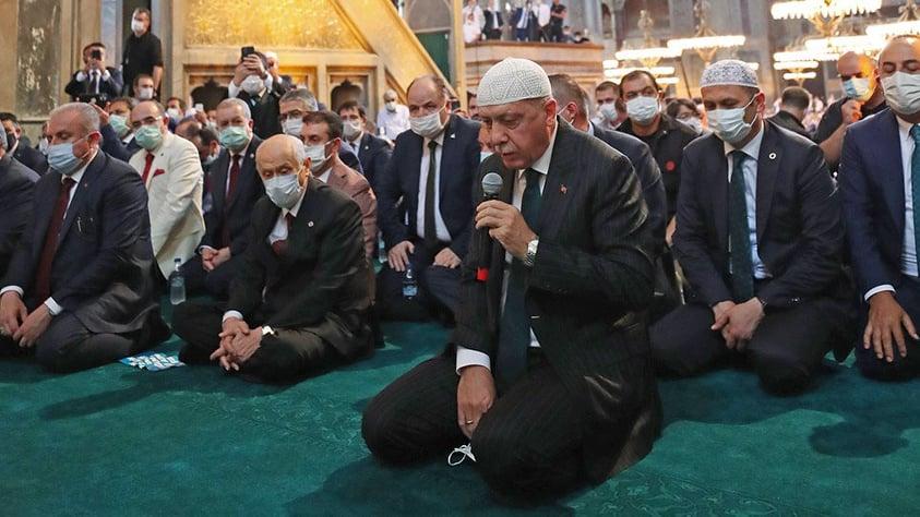 Τουρκικός Αναθεωρητισμός: Από την Αγία Σοφία στο Αιγαίο